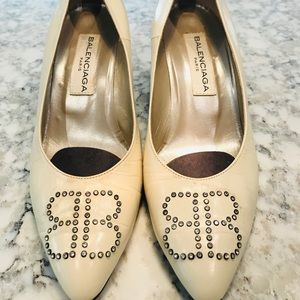 Balenciaga Paris Jewel Encrusted Heels